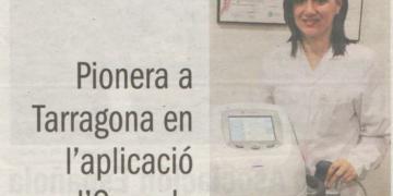 Núria Barcelona pionera en la aplicación de Ondas de Choque